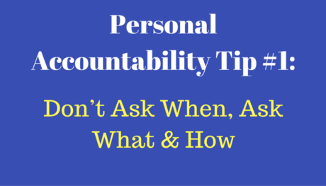 Personal Accountability Training | ASSESSMENT SOLUTIONS